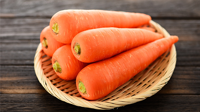 Os benefícios da cenoura para a saúde