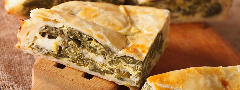 Use talos de agrião e espinafre nessa deliciosa receita sustentável de torta salgada
