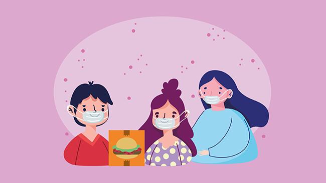 Como receber a comida e evitar o coronavírus