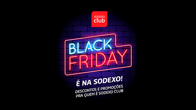 Aproveite a Black Friday no Sodexo Club
