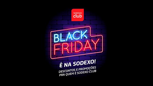 Aproveite a Black Friday no Sodexo Club