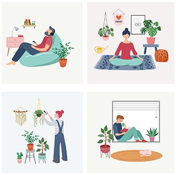 Como cuidar da sua saúde em tempos de isolamento social