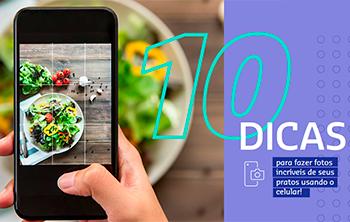 Dicas para fotografar comida