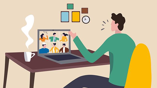 Reuniões online - como ser profissional