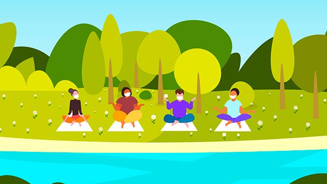 Como fazer exercícios ao ar livre?