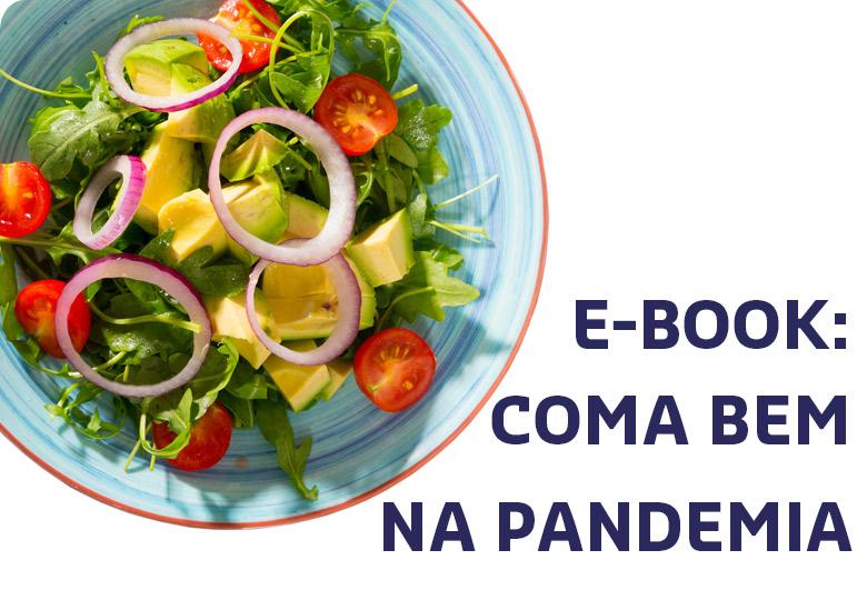 Alimentação saudável na pandemia - e-book