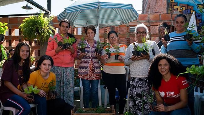 Horta na Laje recebe prêmio na ONU por promover a igualdade de gênero