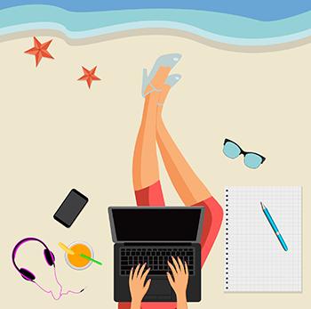 Qualidade de vida para trabalhar no verão