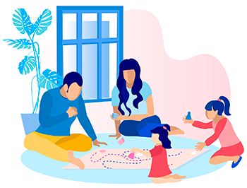 Ideias para brincar com as crianças dentro de casa