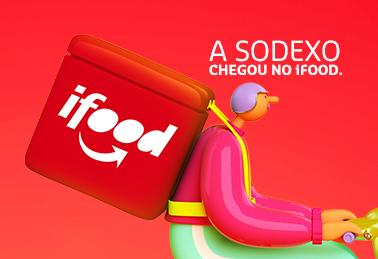 Agora você pode usar o cartão Sodexo no iFood.
