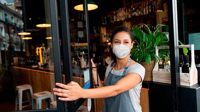 Medidas para a reabertura de bares e restaurantes