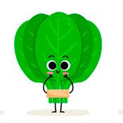 O poder do espinafre para a saúde