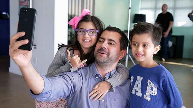 Sodexo promove dia de encontro entre pais e filhos na empresa