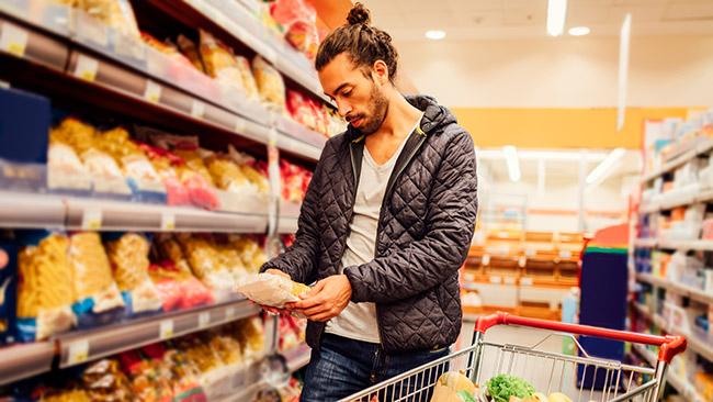 Como organizar o carrinho de compras no supermercado