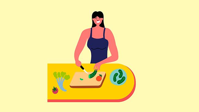 aprenda a higienizar e armazenar alimentos frescos