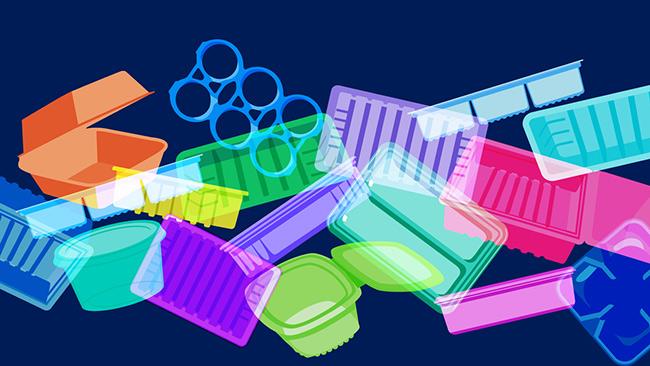 Como descartar o lixo plástico para reciclagem