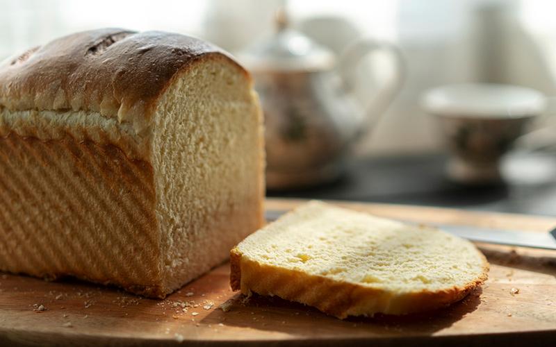 Pão caseiro com sabor de comida de vó