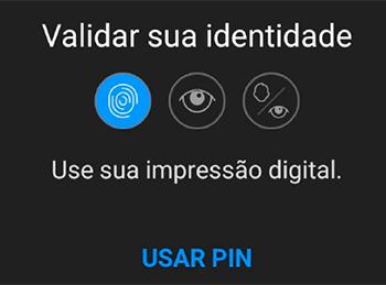 Como confirmar suas informações de segurança no app da Sodexo