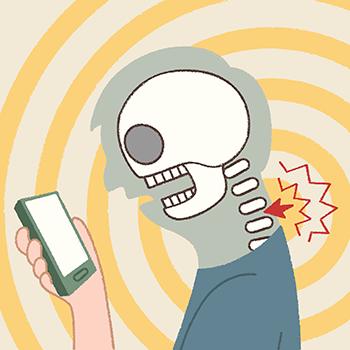 Evite a síndrome do text neck