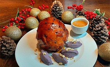 Receita de tender para o Natal do chef Laurent Suaudeau