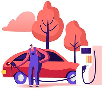 Como funciona o vale-combustível