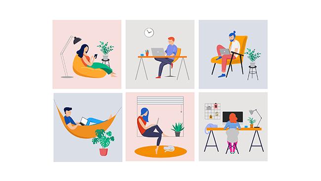 Aumente a produtividade e a motivação com home office