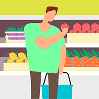 Como escolher alimentos orgânicos no supermercado