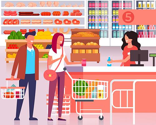 Como usar o seu vale alimentação no supermercado