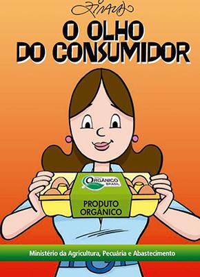 Cartilha sobre produtos orgânicos