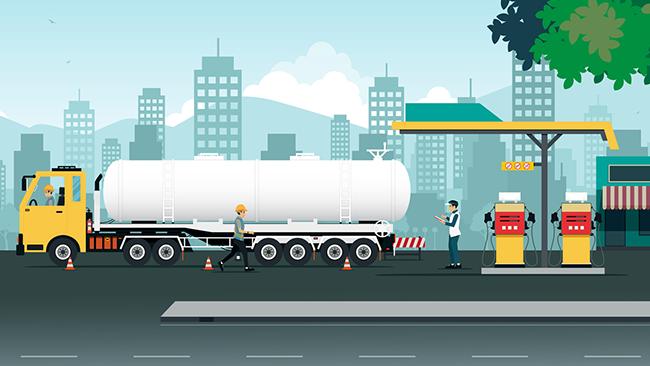 Sodexo faz a gestão de combustível para seu tanque interno
