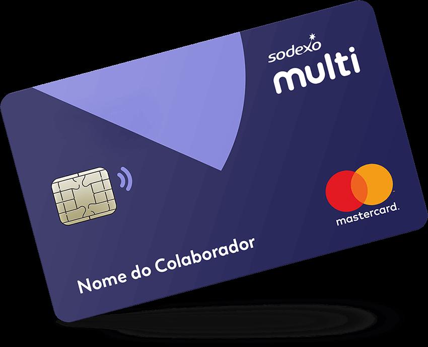 Multi Sodexo um cartão da rede Mastercard