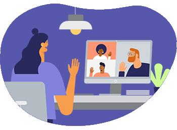 Dicas de etiqueta para reuniões online