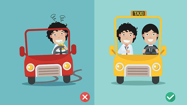 Efeitos do álcool e direção