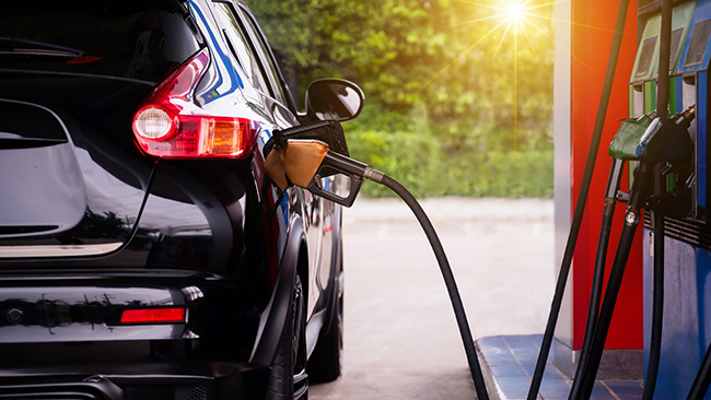Como abastecer com o cartão combustível