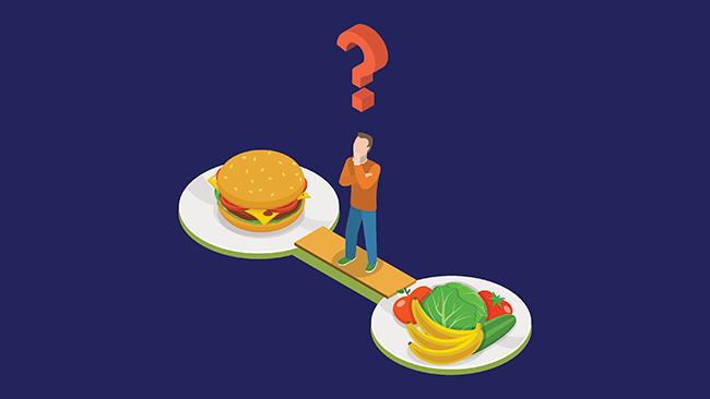 Pesquisa: você se alimenta bem na quarentena: