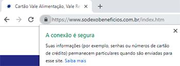 Como identificar um site seguro no Google Chrome