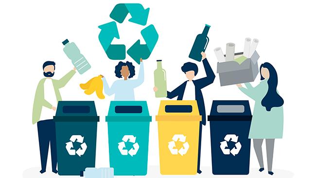 Como reciclar em casa