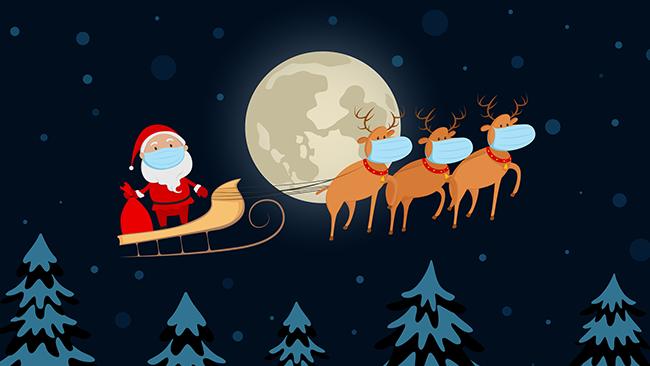 Natal seguro na pandemia