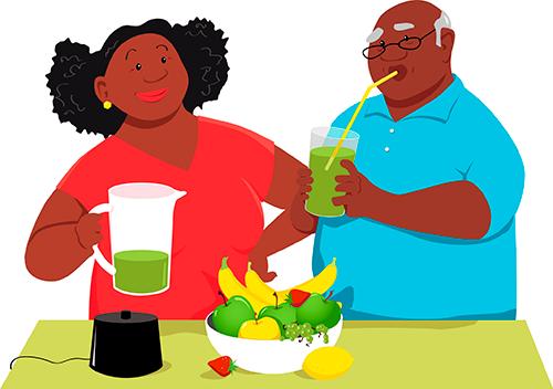 Alimentação saudável e longevidade