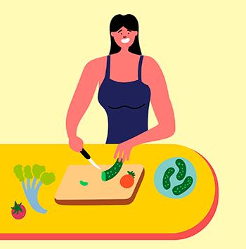 chega de desperdício: aprenda a higienizar e guardar os alimentos frescos