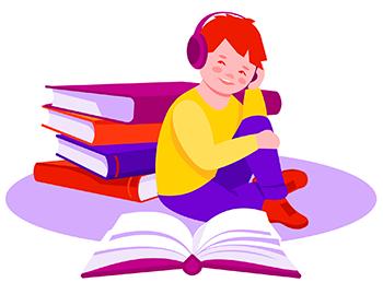 Audiolivros para crianças