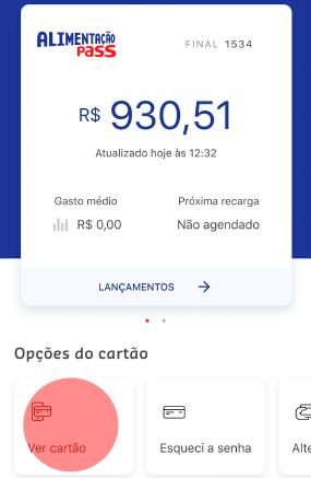 Aprenda a ver os dados do seu cartão no app da Sodexo