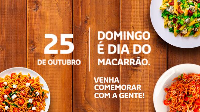 Sodexo Club faz ofertas do Dia do Macarrão