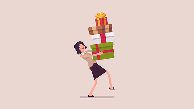 Acredite: cartão presente é melhor do que cesta