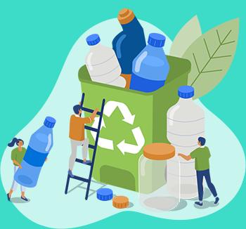 Como fazer reciclagem em casa