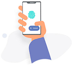 é preciso inserir o código de segurança ou a digital para fazer o pagamento com Sodexo