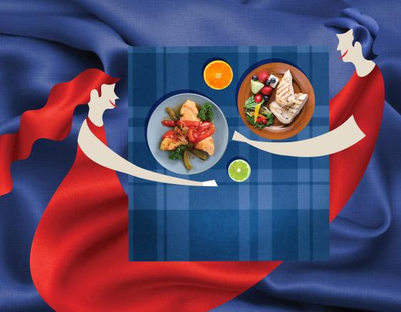 10 passos da alimentação saudável