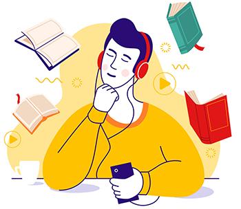 5 audiolivros que vão inspirar você em 2021