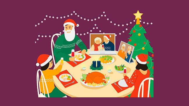 Natal na pandemia - receitas e dicas para uma ceia menor