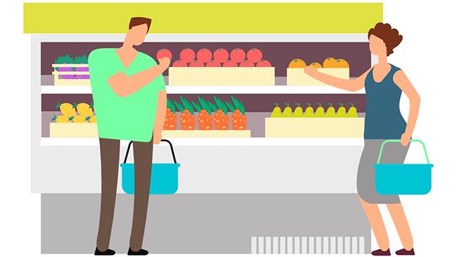 Aprenda a montar uma cesta básica saudável com seu vale alimentação Sodexo